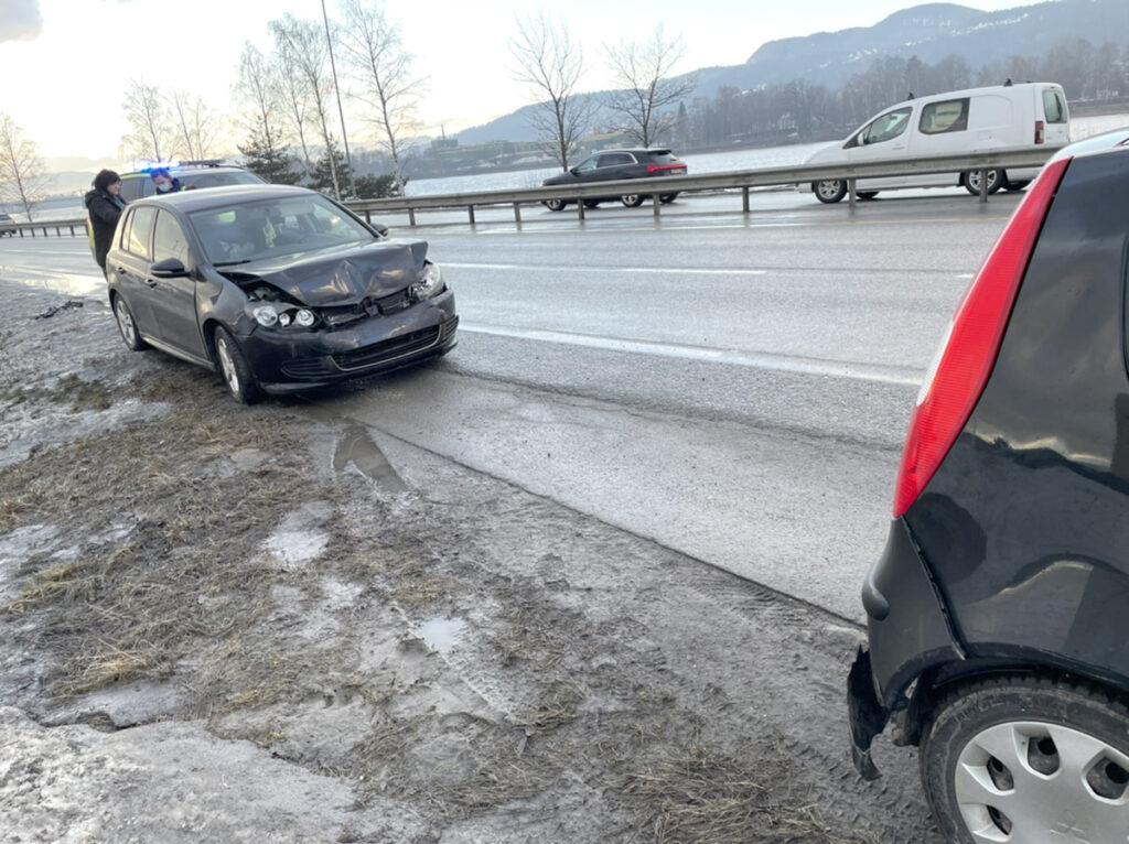 Trafikkulykke E134 Mjøndalen