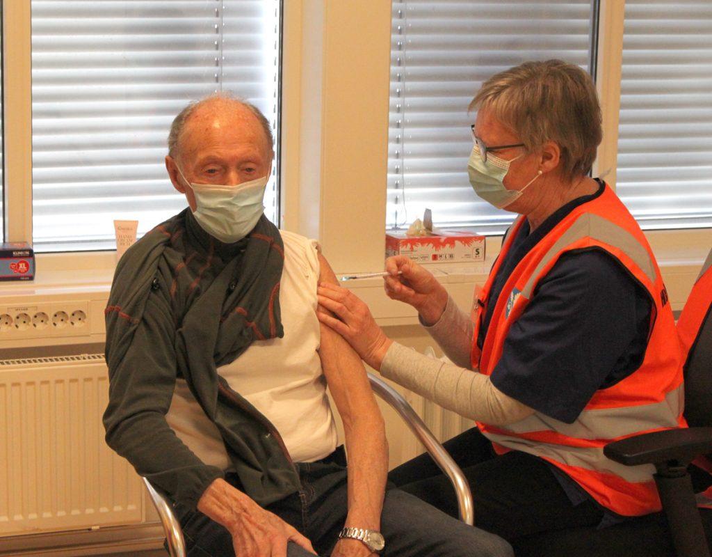 Vaksinering Øvre Eiker