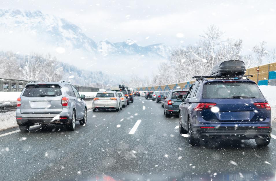 Vintertrafikk - omkomne i trafikken