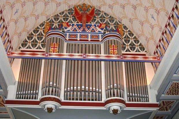 Orgelet i Fiskum kirke